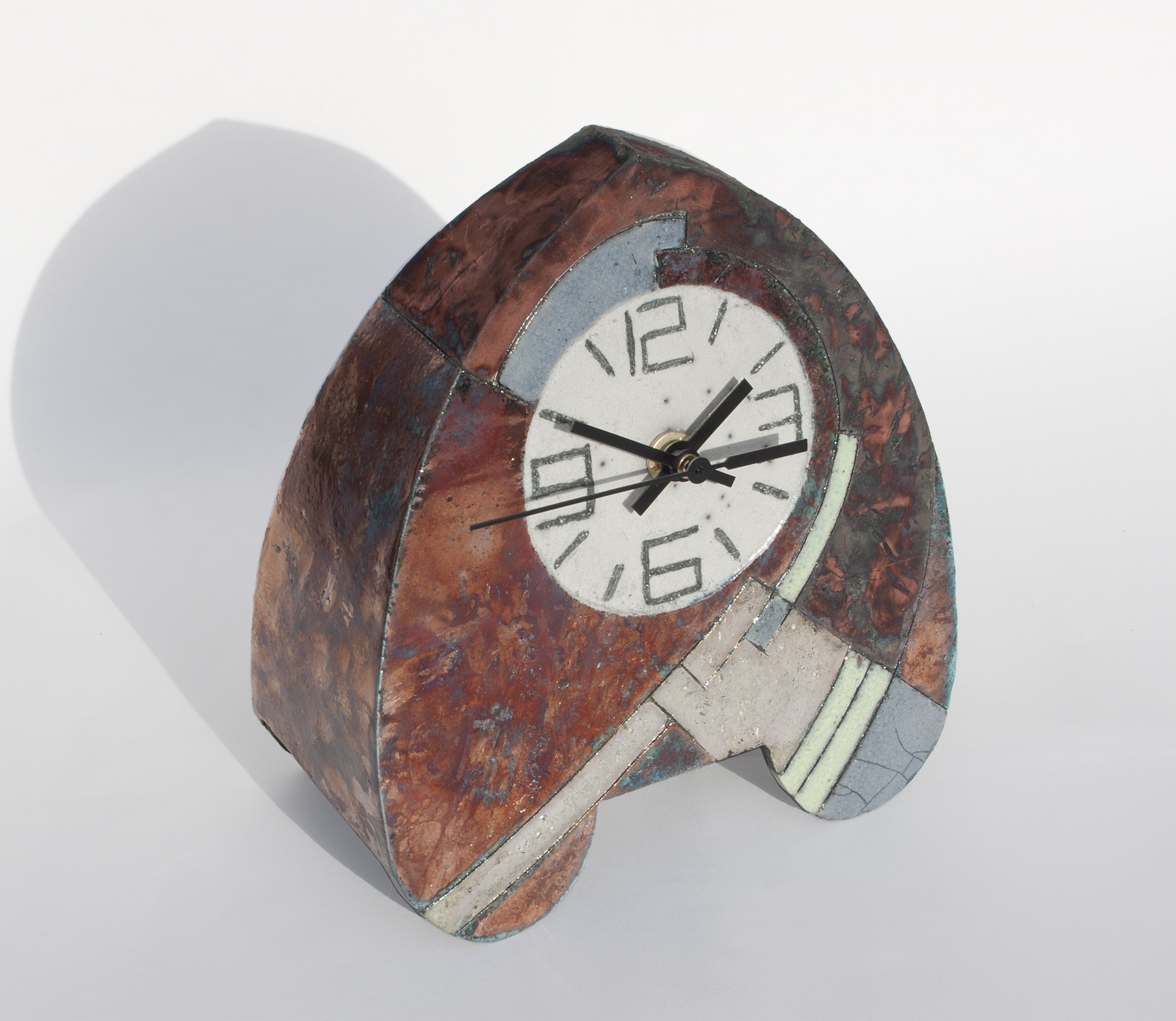 Arch clock by Sally Brooks