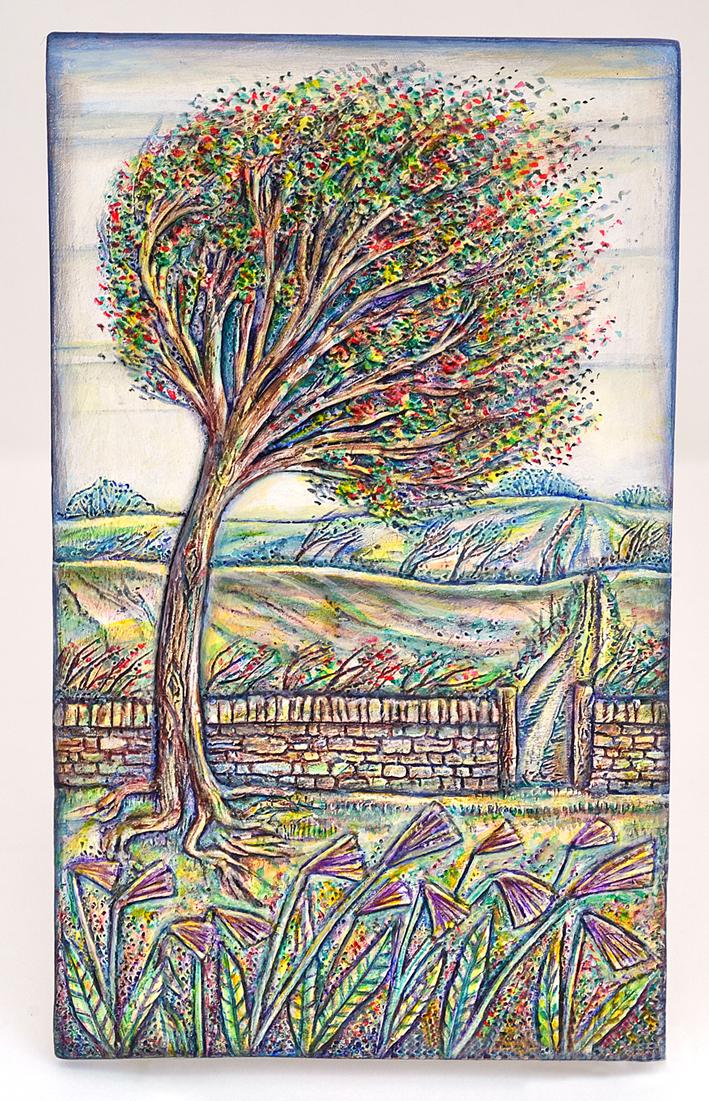 Tree plaque by Julie Sutton