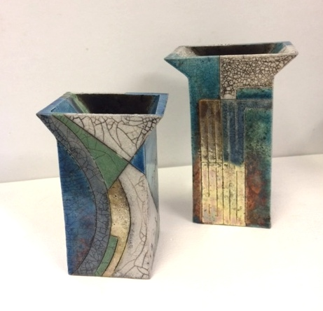 Vases by Sally Brooks