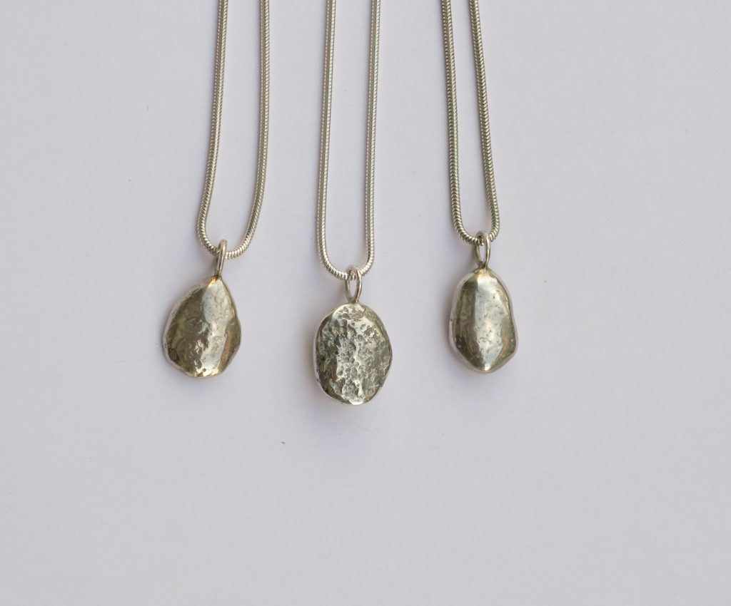Silver nuggets by Hazel Morris
